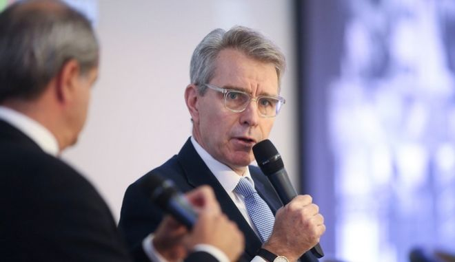 Ο Τζέφρι Πάιατ, στο Thessaloniki Summit 2018
