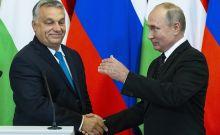 Στιγμιότυπο από την συνάντηση Πούτιν-Όρμπαν στη Μόσχα