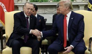 Ο Πρόεδρος των ΗΠΑ Ν.Τραμπ και η Πρώτη Κυρία Μελάνια υποδέχτηκαν το προεδρικό ζεύγος της Τουρκίας