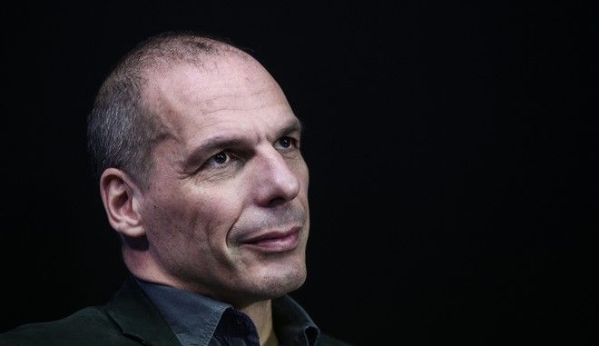 The former Minister of Finance of Greece, Yanis Varoufakis at The Press Project, in Athens, on Feb. 17, 2016 /    ,    The Press Project,  ,  17 , 2016