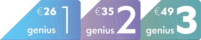 Τώρα ξέρεις τι να περιμένεις στον λογαριασμός του ρεύματος, με τα νέα σταθερά πακέτα ηλεκτρικού ρεύματος Genius!