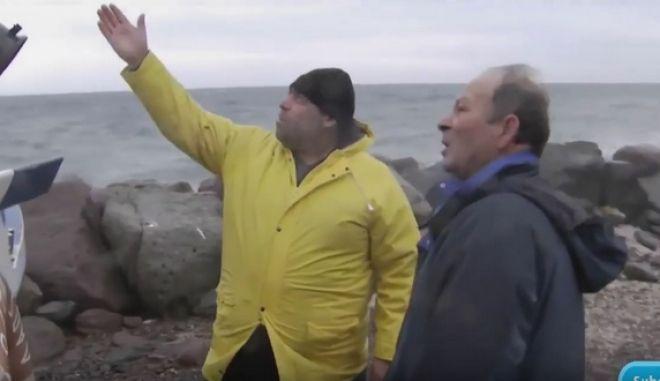 Το NBC συνάντησε τους ψαράδες ήρωες που έσωσαν πρόσφυγες με τις βάρκες τους