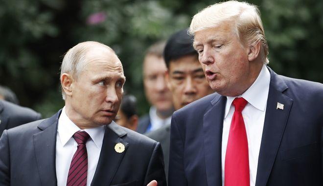 """""""Στον αέρα"""" η συνάντηση Τραμπ - Πούτιν"""