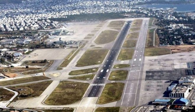 Αεροφωτογραφία του Ελληνικού