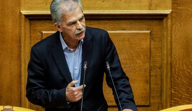 Ο ανεξάρτητος βουλευτής Σπύρος Δανέλλης