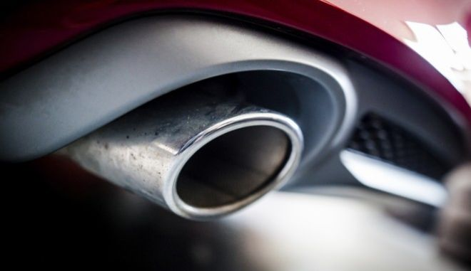 The exhaust pipe of an Audi A7 Sportback 3.0 TDI quattro, V6 diesel engine, construction year 2013 is pictured in Backnang, Germany, Friday, June 2, 2017. German prosecutors say they have expanded their investigation into suspected violations involving manipulation of diesel emissions at carmaker Audi to include cars sold in Germany and Europe. The statement Friday from prosecutors in Munich comes a day after the transport ministry said the company had used software that turned off emissions controls when vehicles were not being tested in 24,000 vehicles built between 2009 and 2013. (Christoph Schmidt/dpa via AP)
