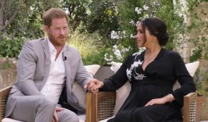 Πλάνο της συνέντευξης του πρίγκιπα Χάρι και της Μέγκαν Μαρκλ στην Όπρα Γουίνφρεϊ