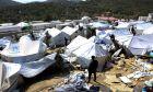 Το κέντρο φιλοξενίας μεταναστών και προσφύγων στην Μόρια