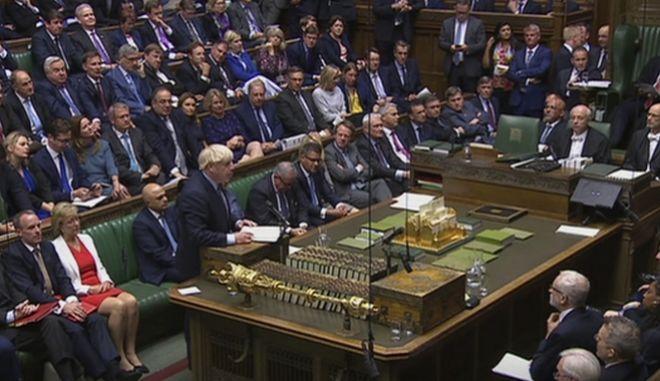 Το βρετανικό κοινοβούλιο.