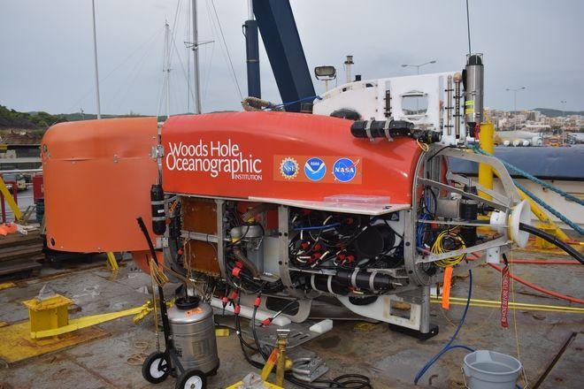Τηλεχειριζόμενο ROV Ινστιτούτου Woods Hole