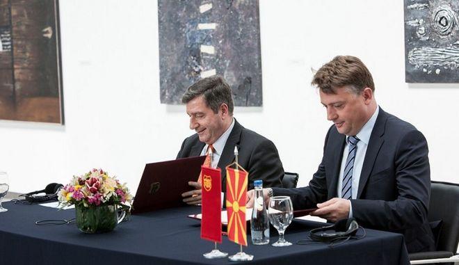 Σύμφωνο συνεργασίας με τον δήμο Σκοπίων υπέγραψε ο Καμίνης