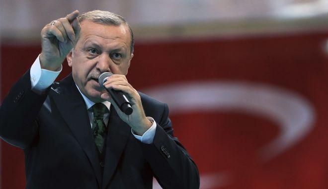 Ο Τούρκος πρόεδρος Ρατζίπ Ερντογάν