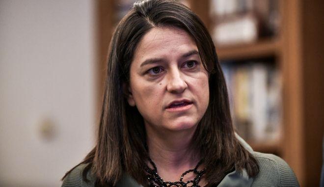 Η υπουργός Παιδείας Νίκη Κεραμέως.