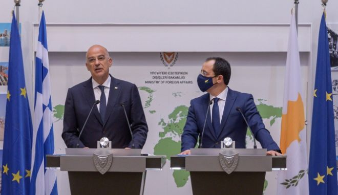 """Δένδιας: """"Η ΕΕ θα έπρεπε να έχει πιο ενεργό ρόλο στο Κυπριακό"""""""