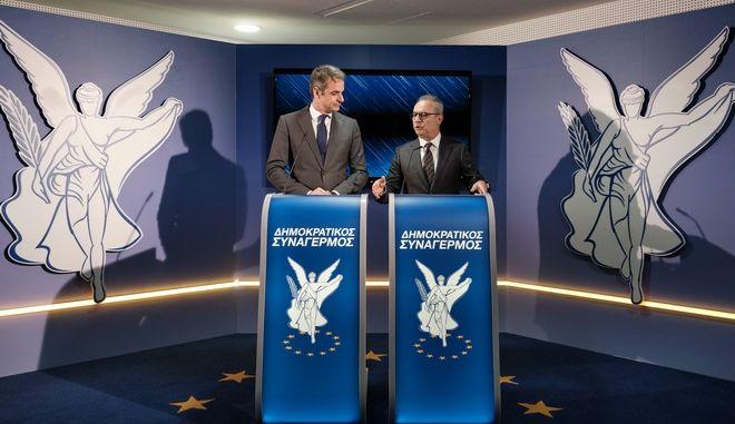 Από την επίσκεψη του Προέδρου της Νέας Δημοκρατίας Κυριάκου Μητσοτάκη στην Κύπρο