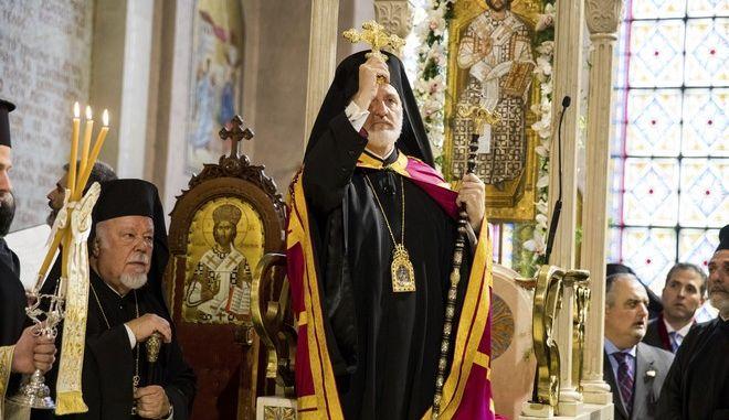 Ο Αρχιεπίσκοπος Αμερικής κ. Ελπιδοφόρος