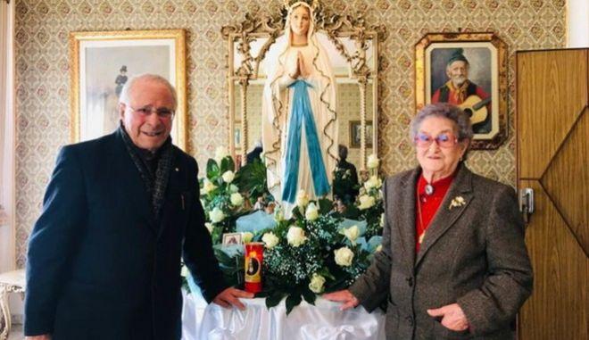 Ο  Κροτσέφισο Μιλιέτα και η Κοζίμα Σερενέλι ήταν ζευγάρι για 82 χρόνια, μέχρι να τους κόψει το νήμα της ζωής ο κορονοϊός