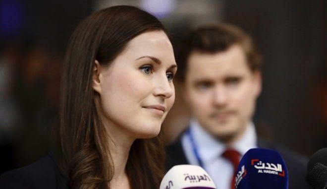 Η Πρωθυπουργός της Φιλανδίας, Σάνα Μαρίν