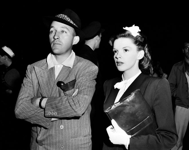 Οι ηθοποιοί Bing Crosby και Judy Garland
