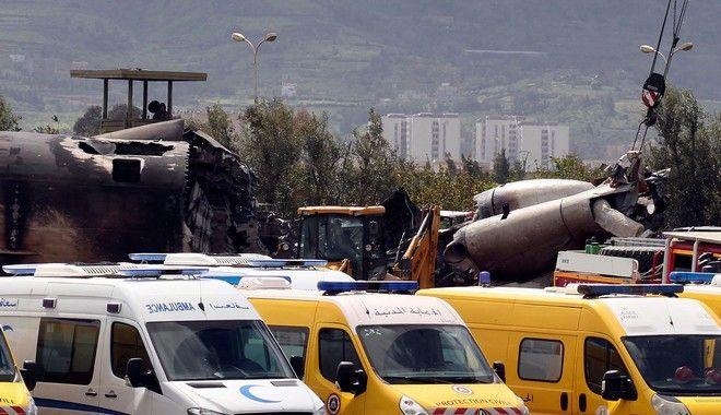 Το σημείο της αεροπορικής τραγωδίας στην Αλγερία