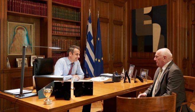 Για την κλιματική αλλαγή θα μιλήσει στον ΟΗΕ ο Μητσοτάκης- Συνάντηση με Ζερεφό