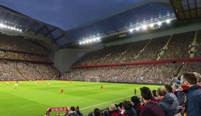 Λίβερπουλ: Στις 61.000 η χωρητικότητα του Άνφιλντ το 2022
