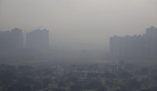 Ατμοσφαιρική ρύπανση στο Νέο Δελχί