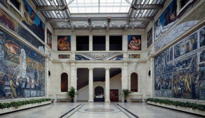 Το Ντιτρόιτ χρεοκόπησε: Και βγάζει ένα ολόκληρο μουσείο στο σφυρί