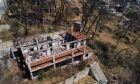 Αεροφωτογραφία, έναν χρόνο μετά τη φωτιά στο Μάτι