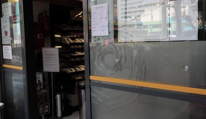 Επίθεση σε σούπερ μάρκετ στην περιοχή του Ζωγράφου