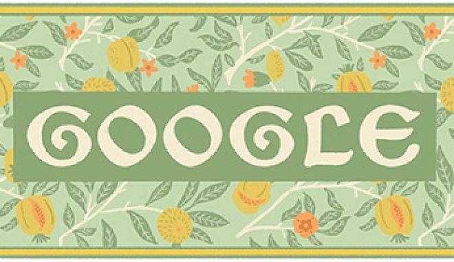 Wiliam Morris: H Google γιορτάζει την 182η επέτειο των γενεθλίων του