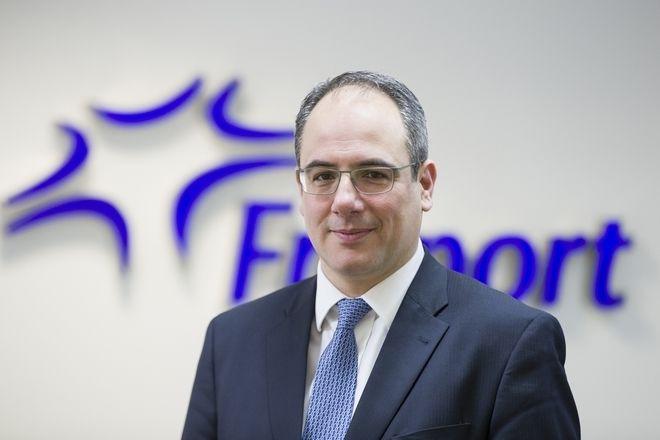 Ο γενικός διευθυντής Εμπορικής και Επιχειρηματικής Ανάπτυξης της Fraport Greece, Γιώργος Βήλος