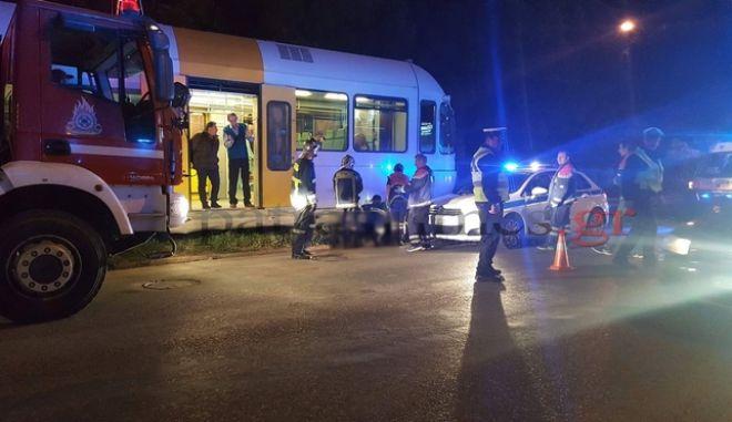 Πάτρα: Νεκρός νεαρός που παρασύρθηκε από τον προαστιακό