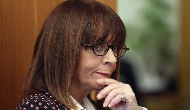 Η Πρόεδρος της Δημοκρατίας, Κατερίνα Σακελλαροπούλου