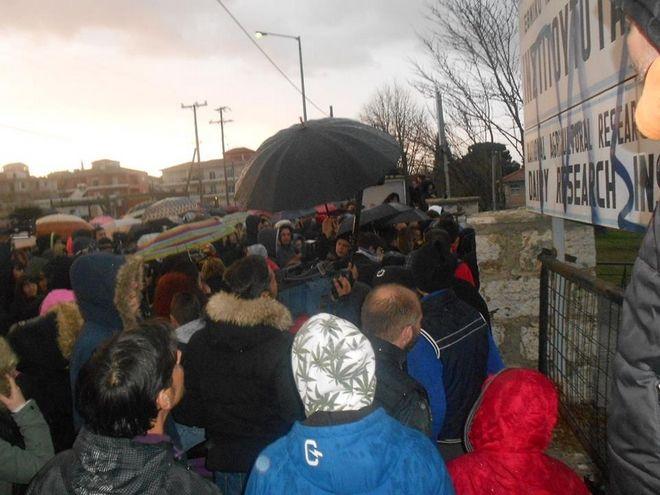 Εισβολή στη Γαλακτοκομική Σχολή Ιωαννίνων. Ζητούν δικαίωση για τον Βαγγέλη Γιακουμάκη