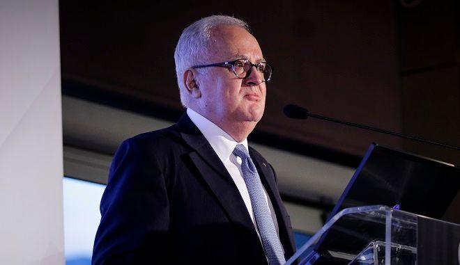 Ο νέος πρόεδρος της Ελληνικής Ένωσης Τραπεζών, Γεώργιος Χαντζηνικολάου