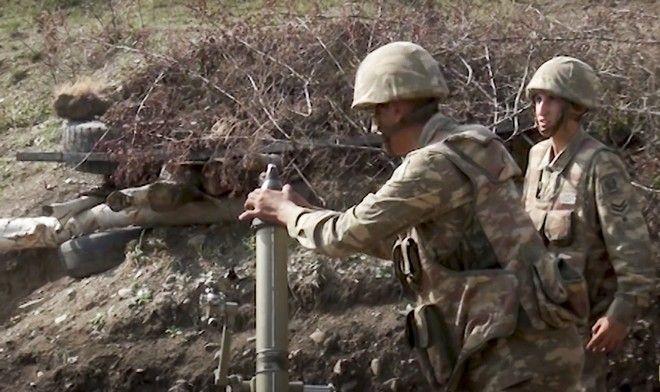 Στρατιώτες στο Ναγκόρνο-Καραμπάχ