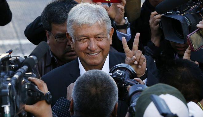 Ο νέος Πρόεδρος του Μεξικού, Αντρές Μανουέλ Λόπεζ Ομπραδόρ