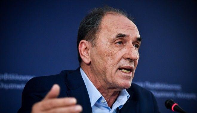 Ο Υπουργός Περιβάλλοντος και Ενέργειας, Γιώργος Σταθάκης