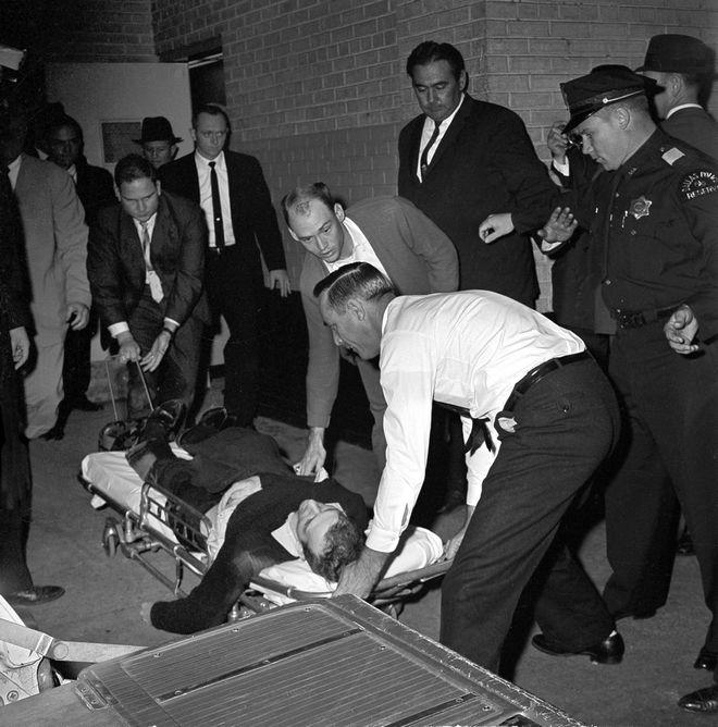 Ο Όσβαλντ πυροβολήθηκε από τον Τζακ Ρούμπι