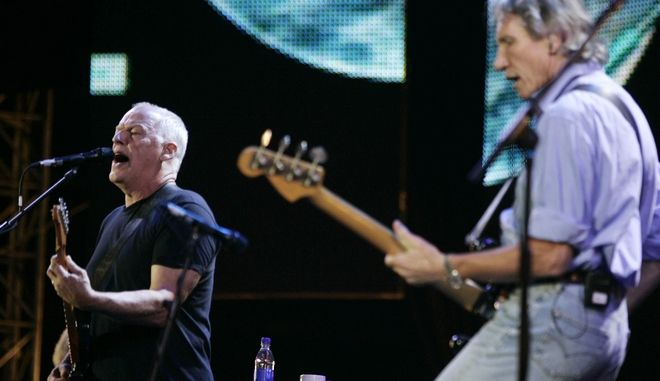 Dave Gilmour και Roger Waters το 2005