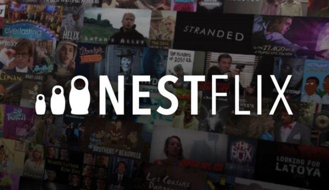 Nestflix: Η ιστοσελίδα - παρωδία του Netflix