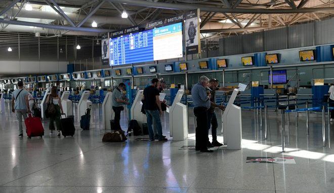 Άρση μέτρων μετακίνησεων στο ΑΑεροδρόμιο Ελευθέριος Βενιζέλος (EUROKINISSI)