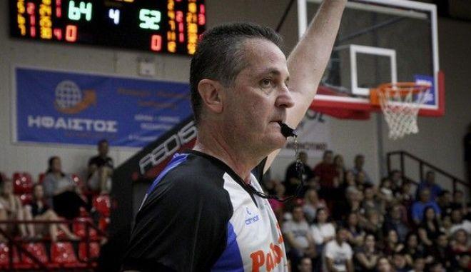 Ο διαιτητής Παναγιώτης Αναστόπουλος