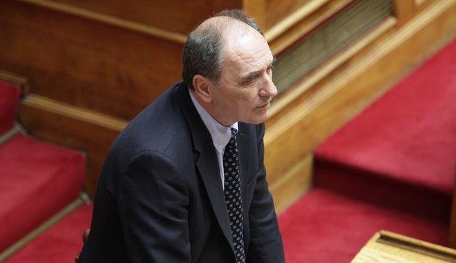 Συζήτηση επίκαιρης επερώτησης, αρμοδιότητας του Υπουργού Οικονομίας, Υποδομών, Ναυτιλίας και Τουρισμού, από  Βουλευτές της Κοινοβουλευτικής Ομάδας της Νέας Δημοκρατίας, σχετικά με τα Δημόσια έργα την Παρασκευή 29 Μαΐου 2015. (EUROKINISSI/ΓΙΑΝΝΗΣ ΠΑΝΑΓΟΠΟΥΛΟΣ)