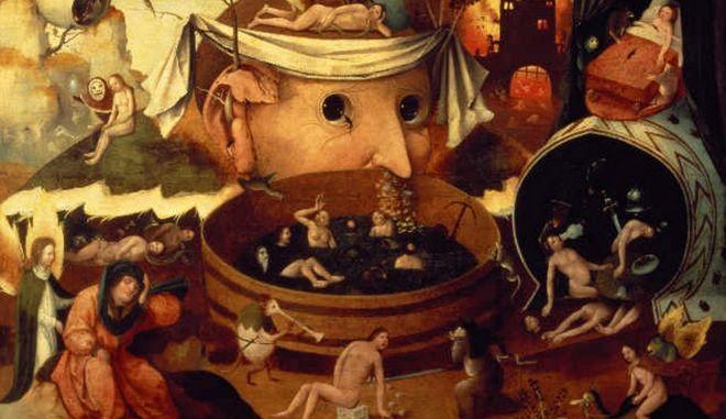 To όραμα του Τόνταλ, μέσα 16ου αιώνα. Ιερώνυμος Μπος