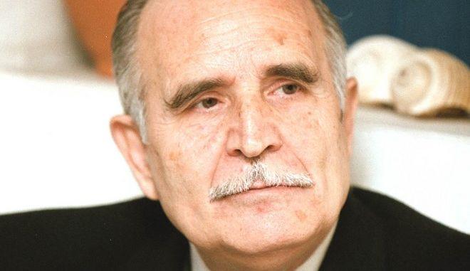 Ο ποιητής Ντίνος Χριστιανόπουλος