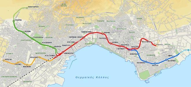 Αυτό είναι το μετρό της Θεσσαλονίκης