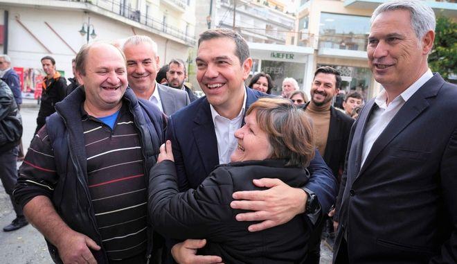 Περιοδεία του Προέδρου του ΣΥΡΙΖΑ, Αλέξη Τσίπρα, στη Δυτική Μακεδονία