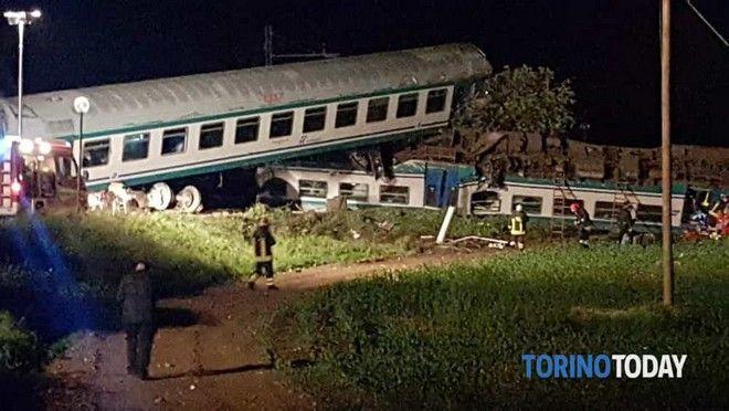 Σιδηροδρομικό δυστύχημα στο Τορίνο